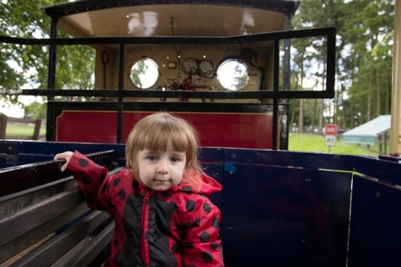 train girl
