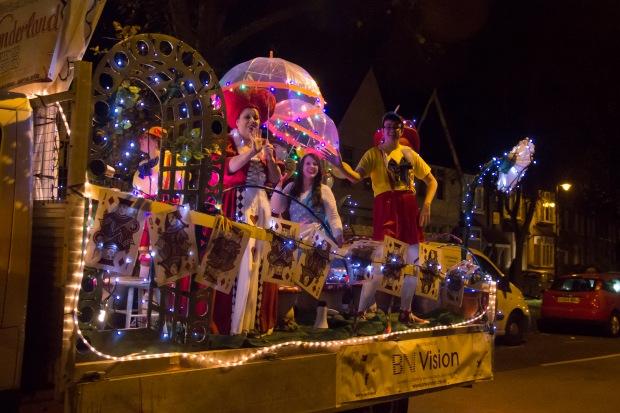 Enfield Light Parade