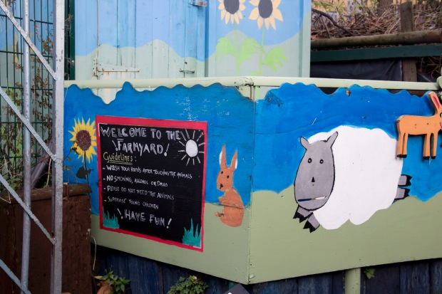 Spitalfields City Park Farm | Baking Betsy