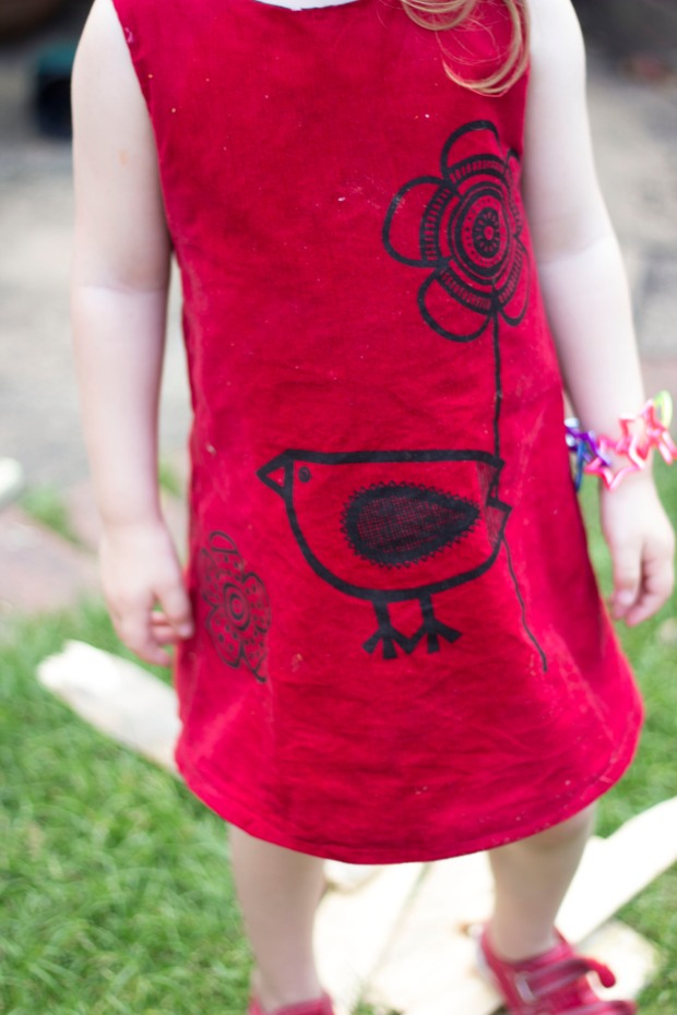 Clothkits Dress | BakingBetsy.com