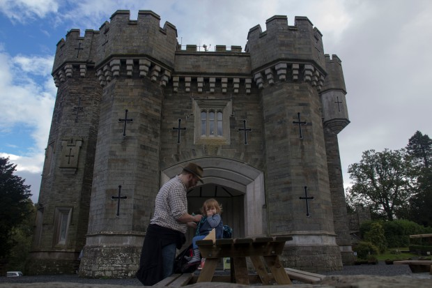 Visiting the National Trust's Wray Castle