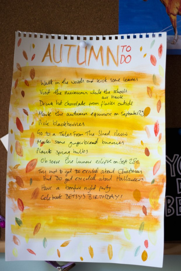 A list of things to do in Autumn | BakingBetsy