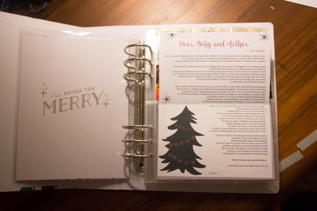 December Daily 2015 - letter to my children