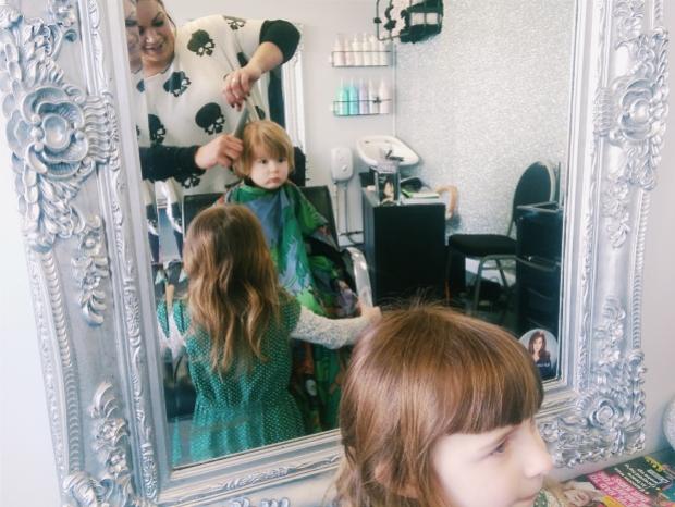 A first haircut