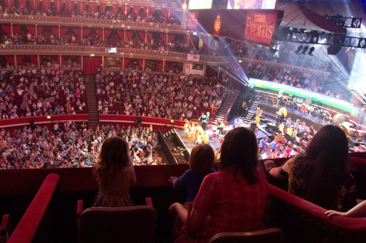 Going to the Cbeebies prom
